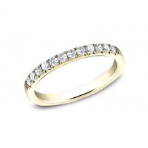 BENCHMARK Ladies Yellow Gold Wedding Band 592144LGY