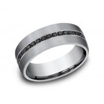 FORGE Mens Tantalum Wedding Band CF717551GTA