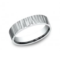 BENCHMARK Mens Platinum Wedding Band CF65614PT