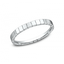 BENCHMARK Ladies White Gold Wedding Band 62901W