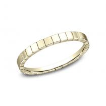BENCHMARK Ladies 14k Yellow Gold Wedding Band 62901Y
