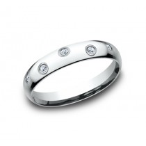 BENCHMARK Ladies White Gold Wedding Band CF514131W
