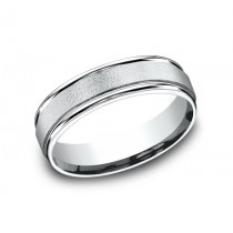 BENCHMARK Mens Platinum Wedding Band RECF7602PT