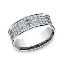 BENCHMARK Ladies White Gold Wedding Band CF528556W