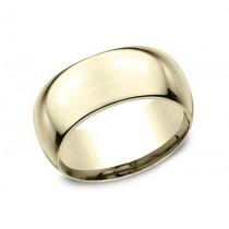 CLASSIC Mens Yellow Gold Wedding Band HDCF1100Y