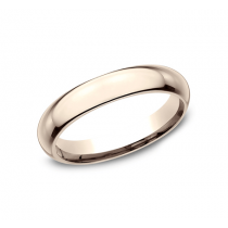 CLASSIC Mens Rose Gold Wedding Band HDCF140R