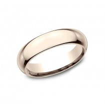 CLASSIC Mens Rose Gold Wedding Band HDCF150R