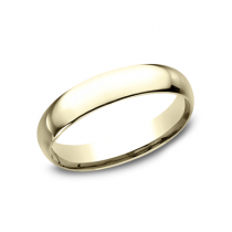 CLASSIC Mens Yellow Gold Wedding Band LCF140Y
