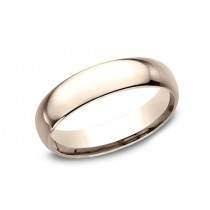 CLASSIC Mens Rose Gold Wedding Band LCF150R