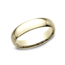 CLASSIC Mens Yellow Gold Wedding Band LCF150Y