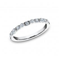BENCHMARK Ladies 14k White Gold Wedding Band 5225690W