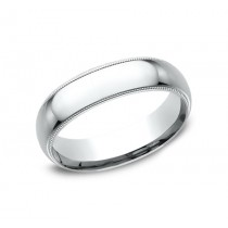 BENCHMARK Mens Platinum Wedding Band LCF360PT