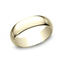 CLASSIC Mens Yellow Gold Wedding Band 170Y