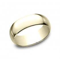 CLASSIC Mens Yellow Gold Wedding Band 180Y