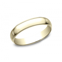 CLASSIC Mens Yellow Gold Wedding Band 340Y