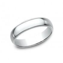 BENCHMARK Mens Platinum Wedding Band 350PT