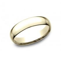 CLASSIC Mens Yellow Gold Wedding Band SLCF150Y