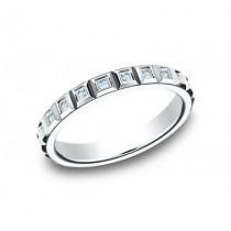 BENCHMARK Ladies 14k White Gold Wedding Band 473682W