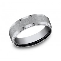 FORGE Mens Tantalum Wedding Band CF67417GTA