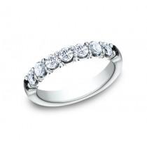 BENCHMARK Ladies 14k White Gold Wedding Band 5935645W
