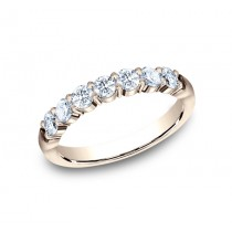 BENCHMARK Ladies Rose Gold Wedding Band 5535015R