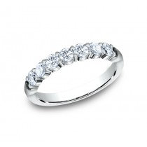 BENCHMARK Ladies 14k White Gold Wedding Band 5535015W