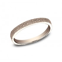BENCHMARK Ladies 14k Rose Gold Wedding Band 8425687R