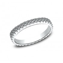 BENCHMARK Ladies White Gold Wedding Band 8425688W