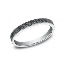 BENCHMARK Ladies White Gold Wedding Band 8425689W