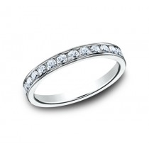 BENCHMARK Ladies 14k White Gold Wedding Band 513525W