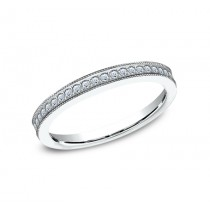 BENCHMARK Ladies 14k White Gold Wedding Band 5425730W