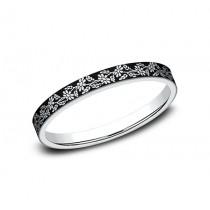 BENCHMARK Ladies 14k White Gold Wedding Band BP8425685W