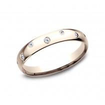 BENCHMARK Ladies 14k Rose Gold Wedding Band CF513131R