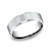 BENCHMARK Mens Palladium Wedding Band CF67333PD