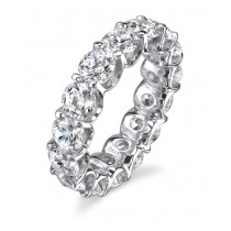 Round Brilliant Eternity Band
