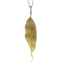 18K  TWO TONE GOLD DP264 PENDANT