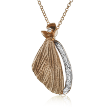18K GOLD TWO TONE DP270-R PENDANT
