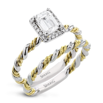 TWIST WEDDING SET LR2796