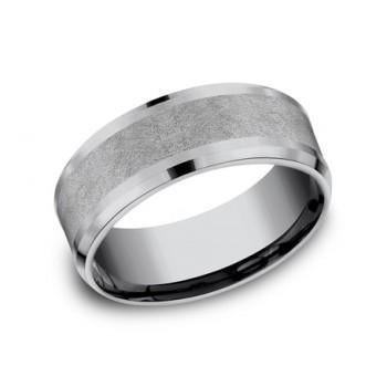 FORGE Mens Tantalum Wedding Band CF128070GTA