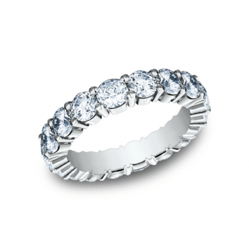 BENCHMARK Ladies White Gold Wedding Band 554083W