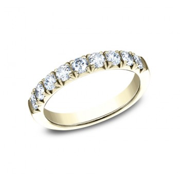 BENCHMARK Ladies Yellow Gold Wedding Band 593173Y