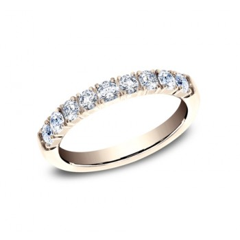 BENCHMARK Ladies Rose Gold Wedding Band 593277R