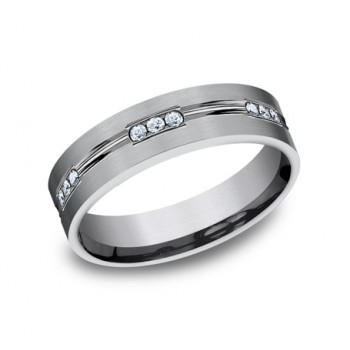 FORGE Mens Tantalum Wedding Band CF526533LGGTA