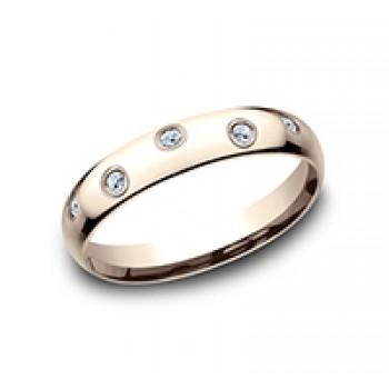 BENCHMARK Ladies Rose Gold Wedding Band CF514131R