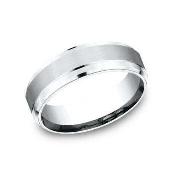 FORGE Mens Platinum Wedding Band CF67351PT