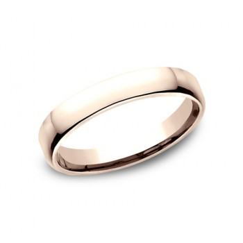 CLASSIC Mens Rose Gold Wedding Band EUCF135R