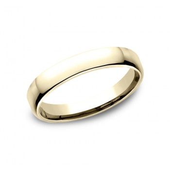 CLASSIC Mens Yellow Gold Wedding Band EUCF135Y