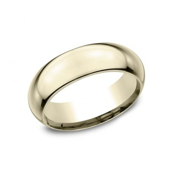 CLASSIC Mens Yellow Gold Wedding Band HDCF170Y