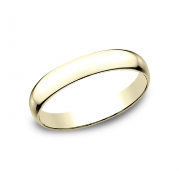 CLASSIC Mens Yellow Gold Wedding Band L130Y