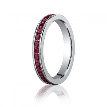 3.5mm Ruby Eternity Band